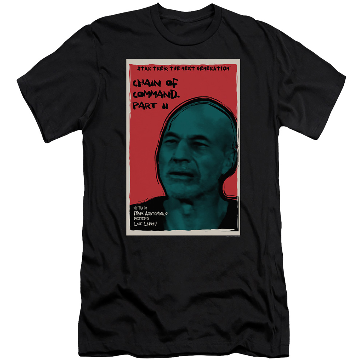 Star Trek The Next Generation Chain of Command, Part II T-Shirt