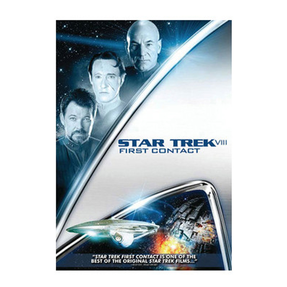 Star Trek VIII: First Contact DVD