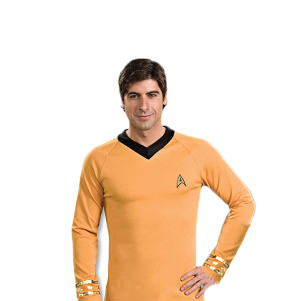 Star Trek Classic Captain Kirk Shirt- Gold