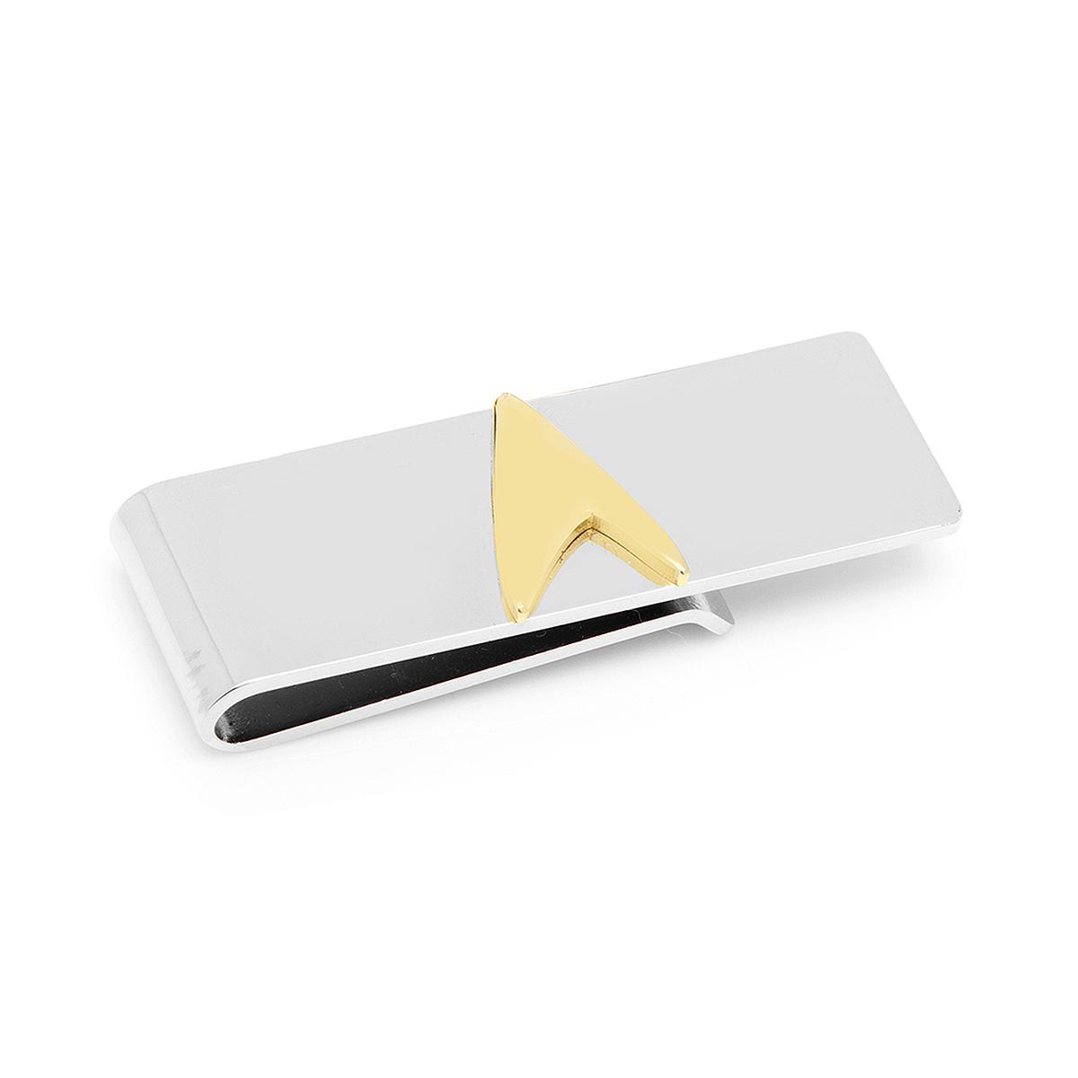 Star Trek Two Tone Delta Shield Money Clip
