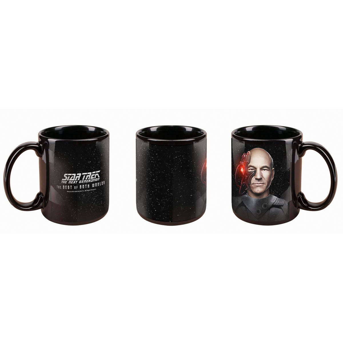Star Trek The Best of Both Worlds Mug