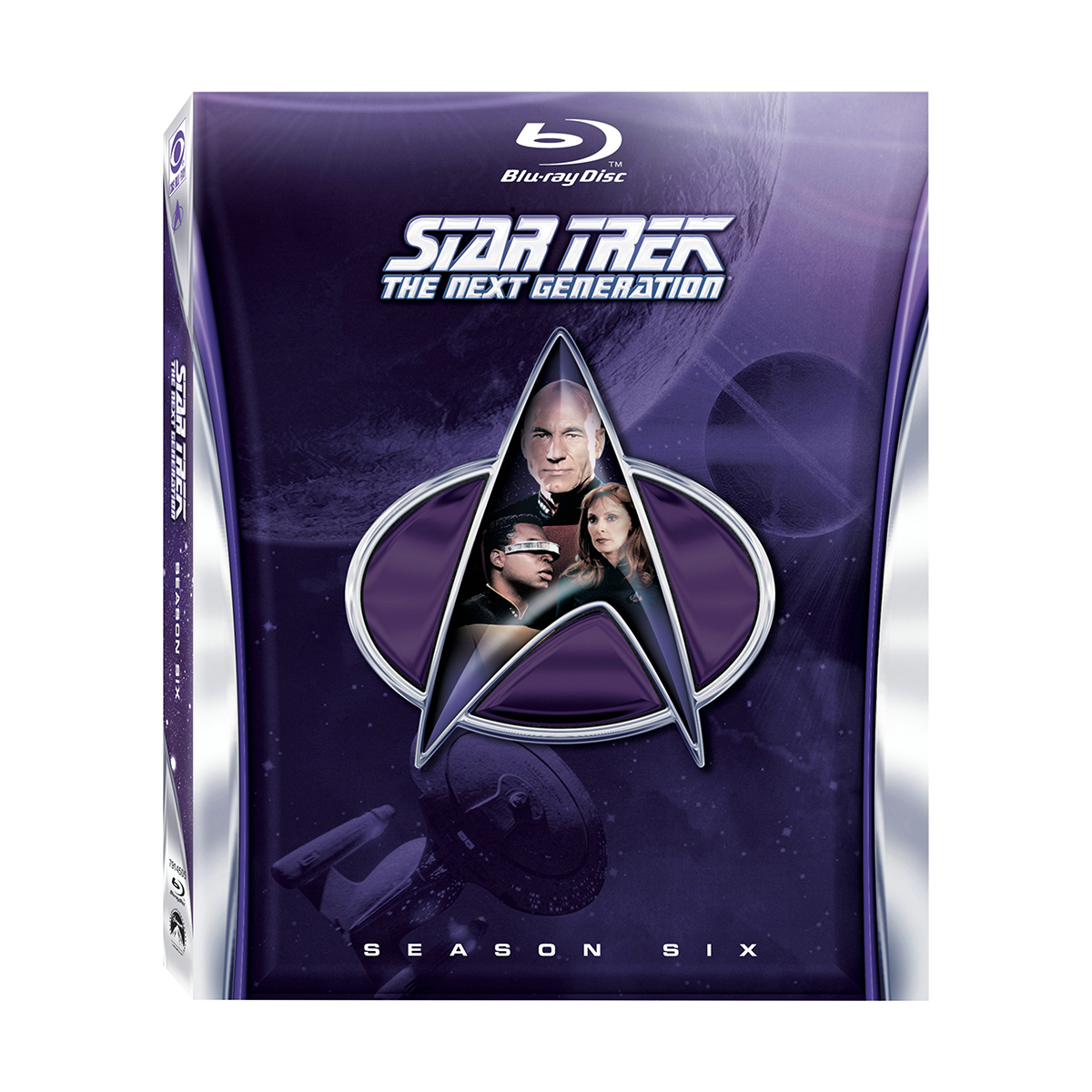 Star Trek: The Next Generation - Season 6 Blu-ray