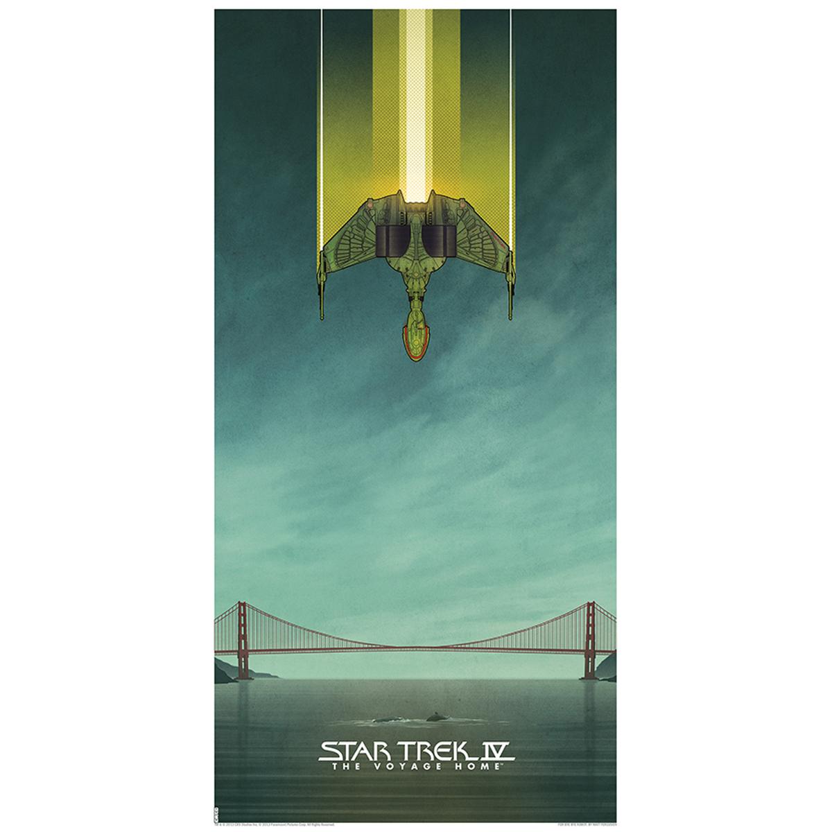 Star Trek IV: The Voyage Home Lithograph [12x24]