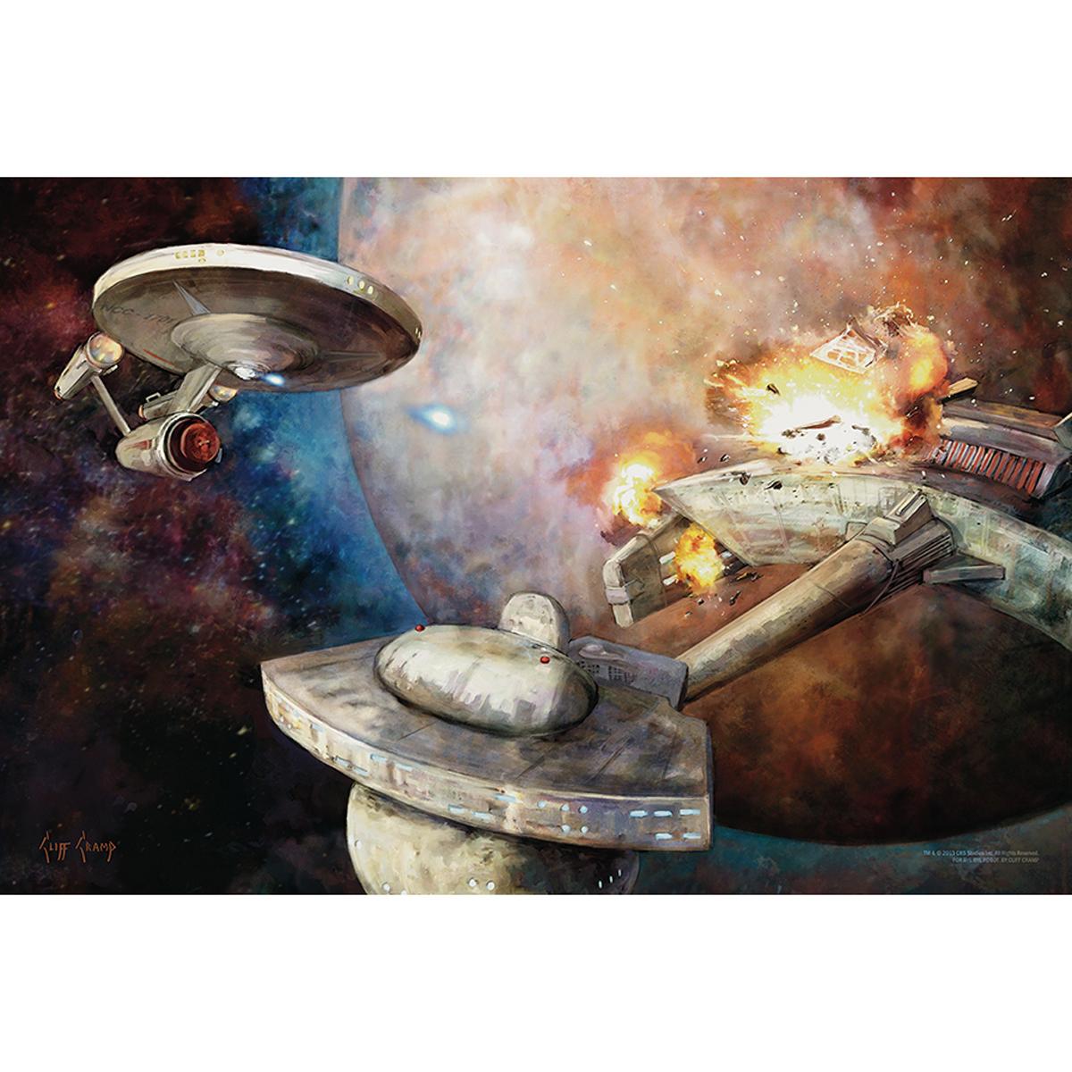Star Trek The Next Generation A Good Day To Die Poster [16x24]