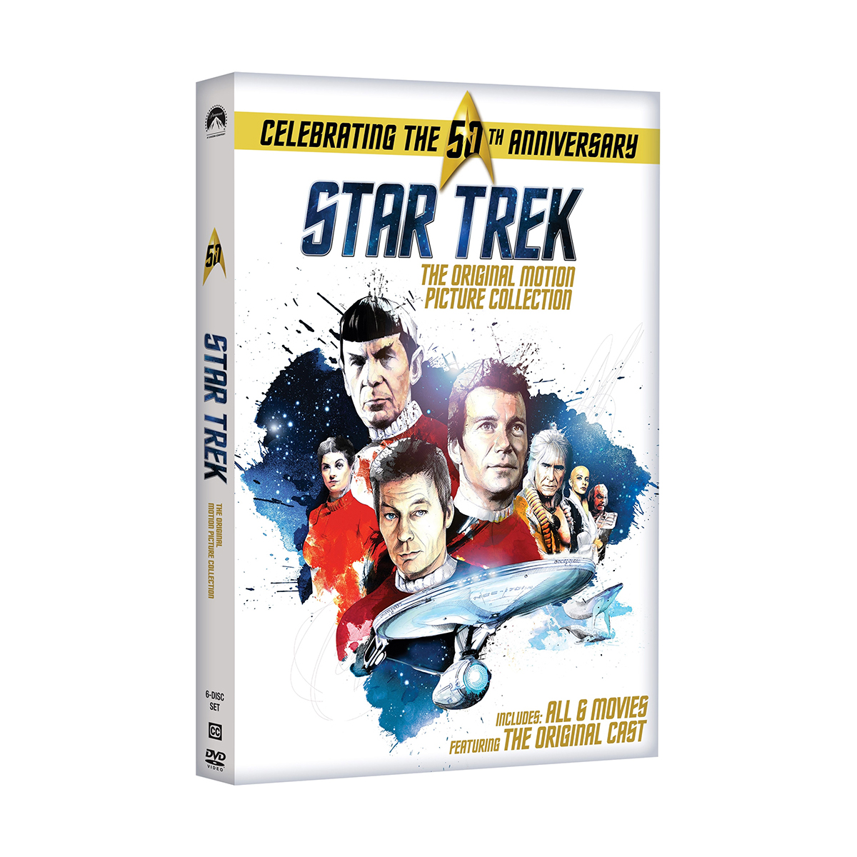 Star Trek: Original Motion Picture Collection (Repackage) DVD
