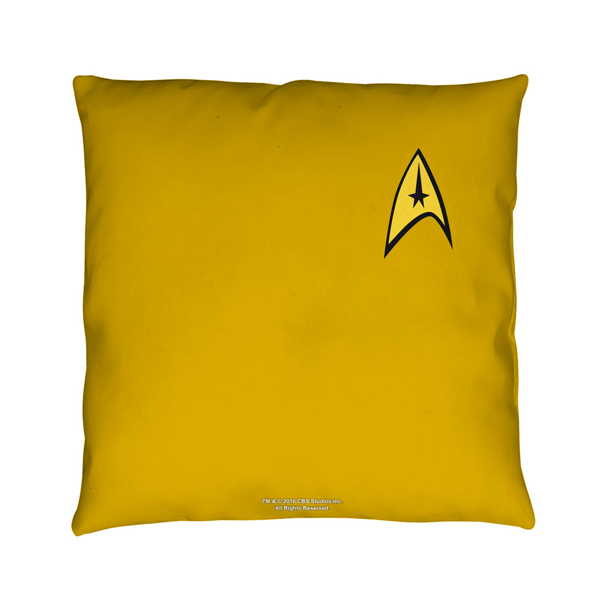 Star Trek Command Pillow [16 x 16]