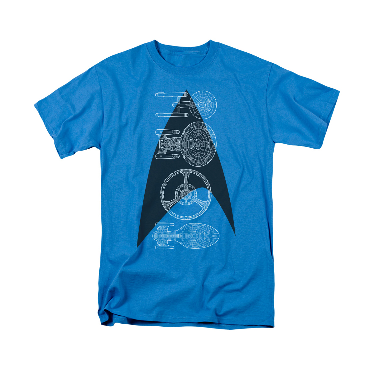 Star Trek Line of Ships T-Shirt