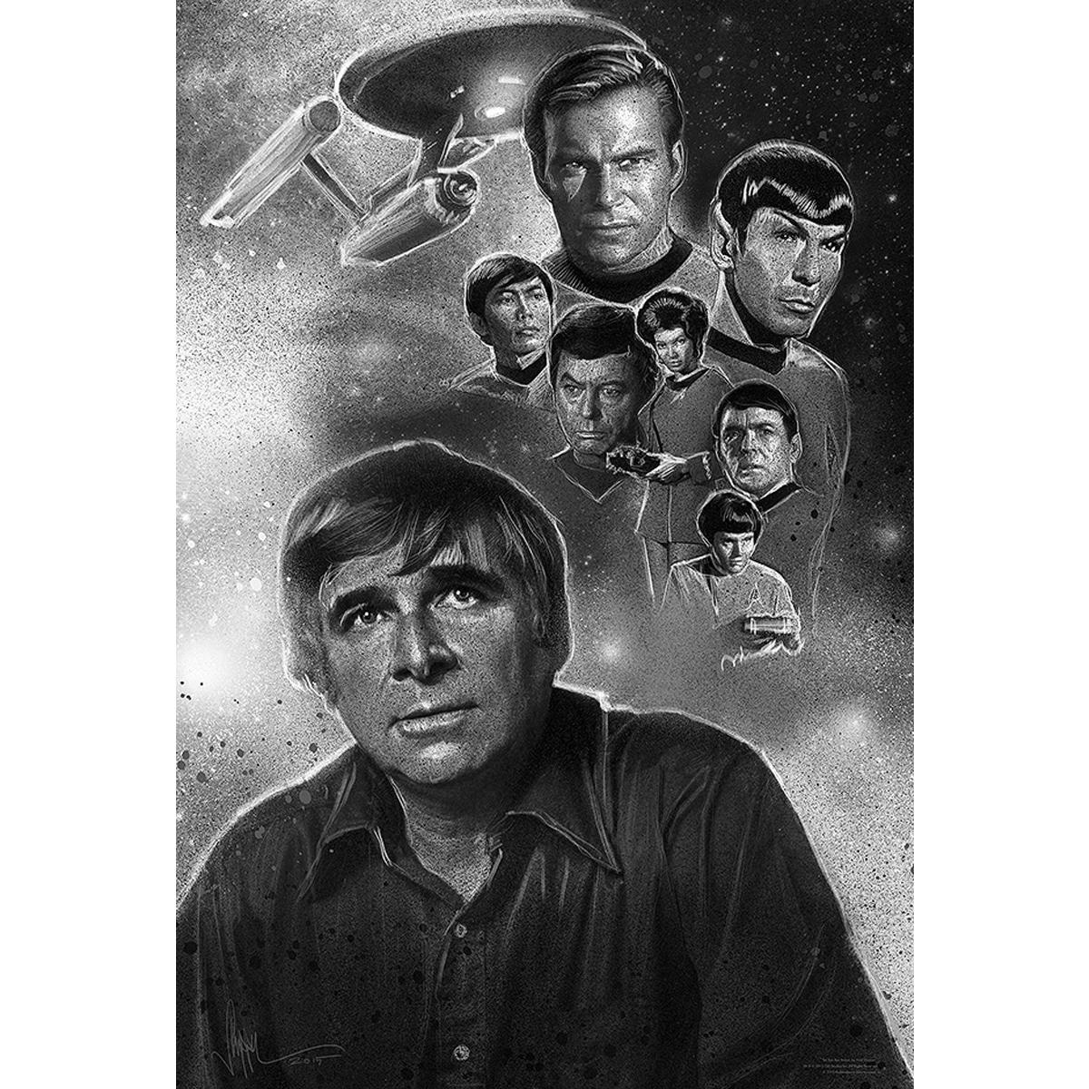Star Trek Genes Dream Black and White Poster [18x24]