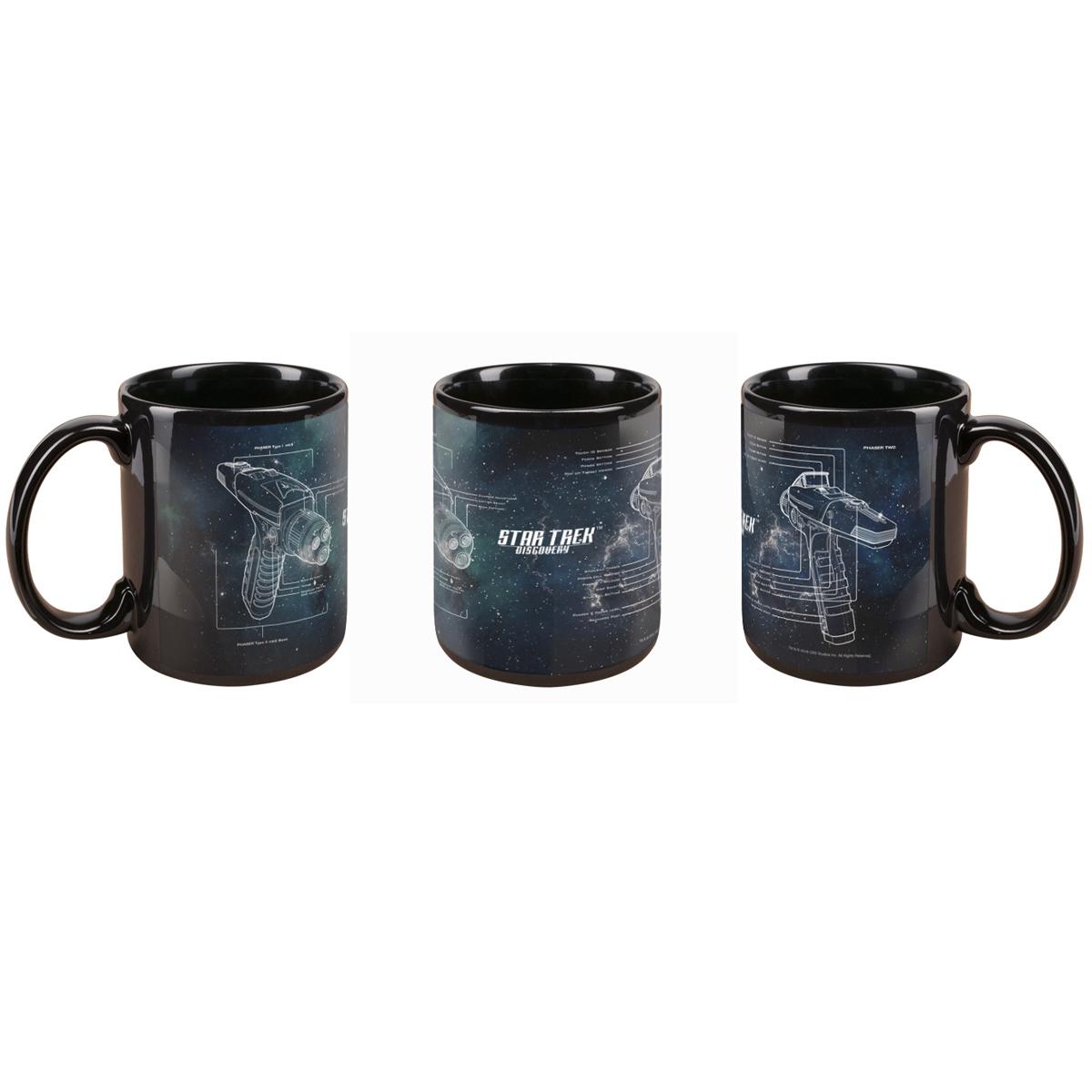 Star Trek Discovery Phaser Mug