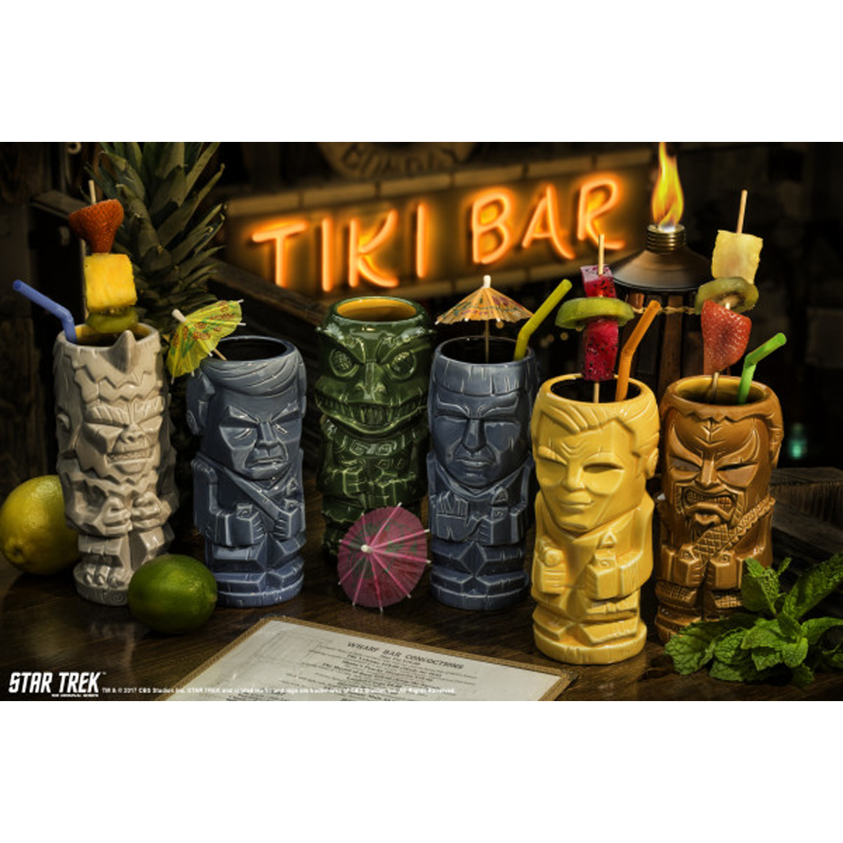 Star Trek The Original Series Dr. McCoy Geeki Tiki