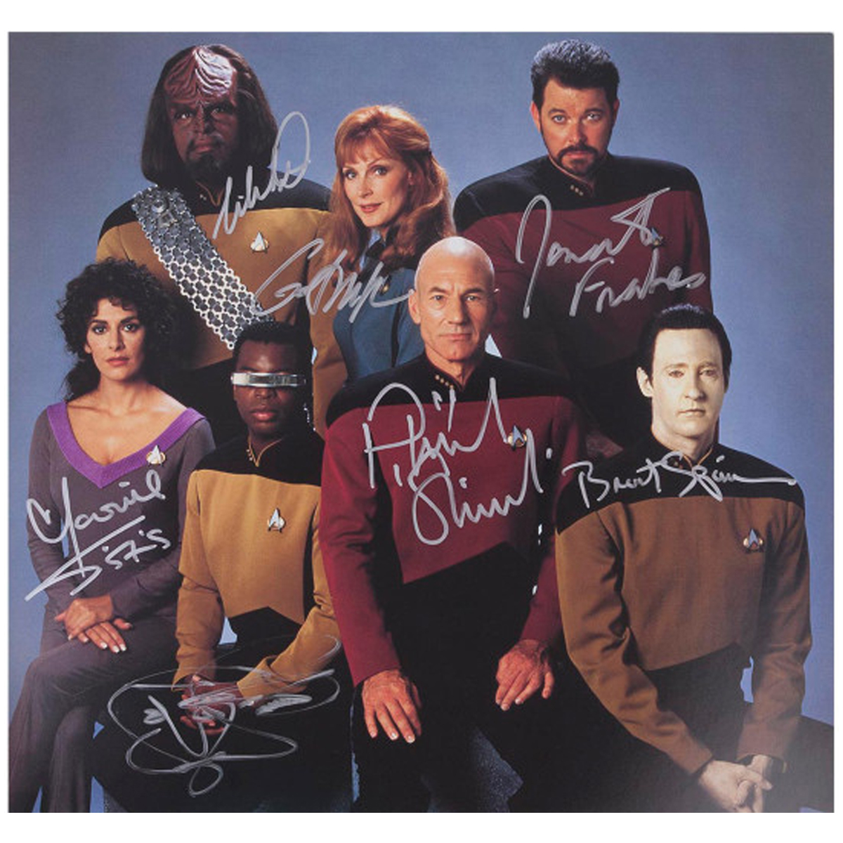 Star Trek The Next Generation Crew Shots [16x20]