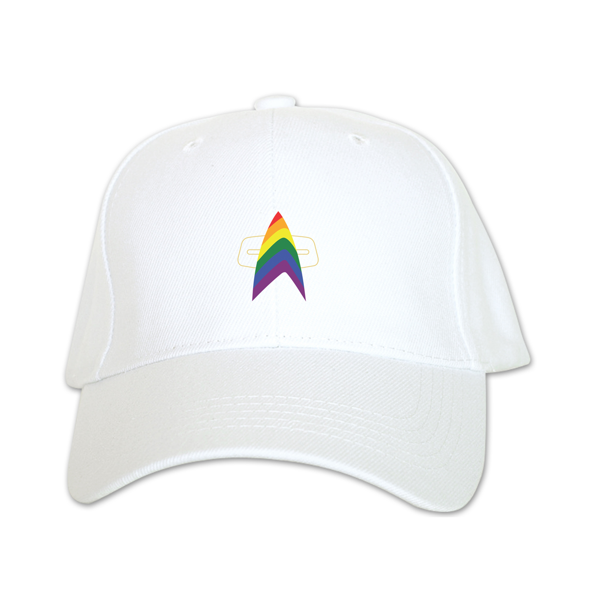 Star Trek Voyager Pride Baseball Hat