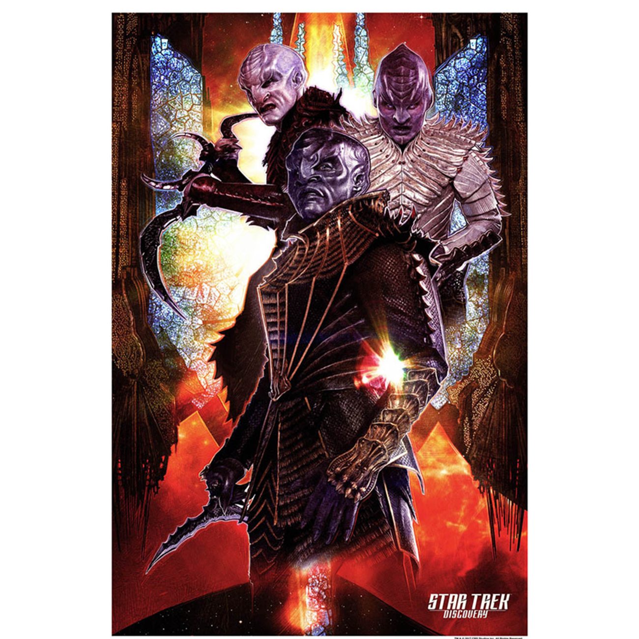 Star trek discovery klingon giclee print 24 x36 shop for Discovery 24 shop