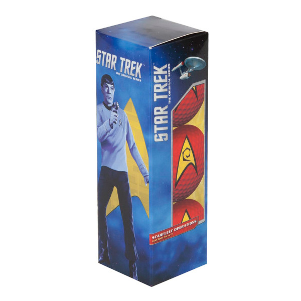 Star Trek Engineering Golf Balls (Red) [Set of 3]