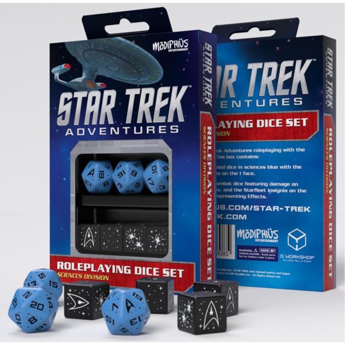 Star Trek Sciences Blue Dice Set