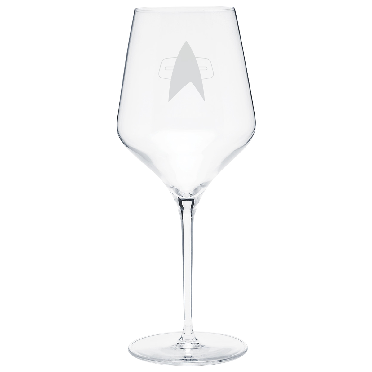 Star Trek Voyager Delta Prism Wine Glass