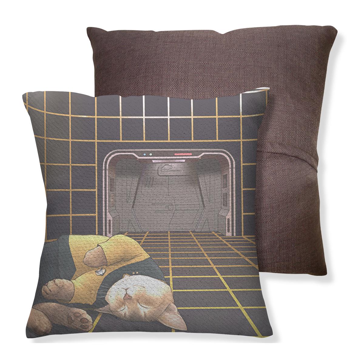Star Trek The Next Generation Cats Throw Pillow