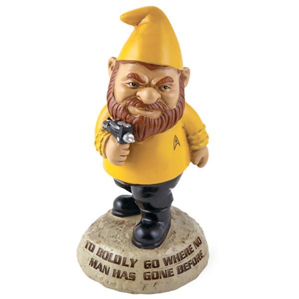 Star Trek Captain Kirk Gnome Statue