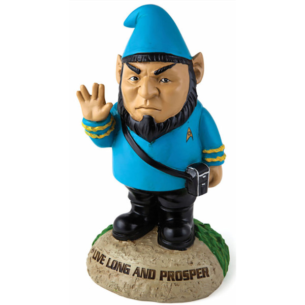 Star Trek Spock Gnome Statue