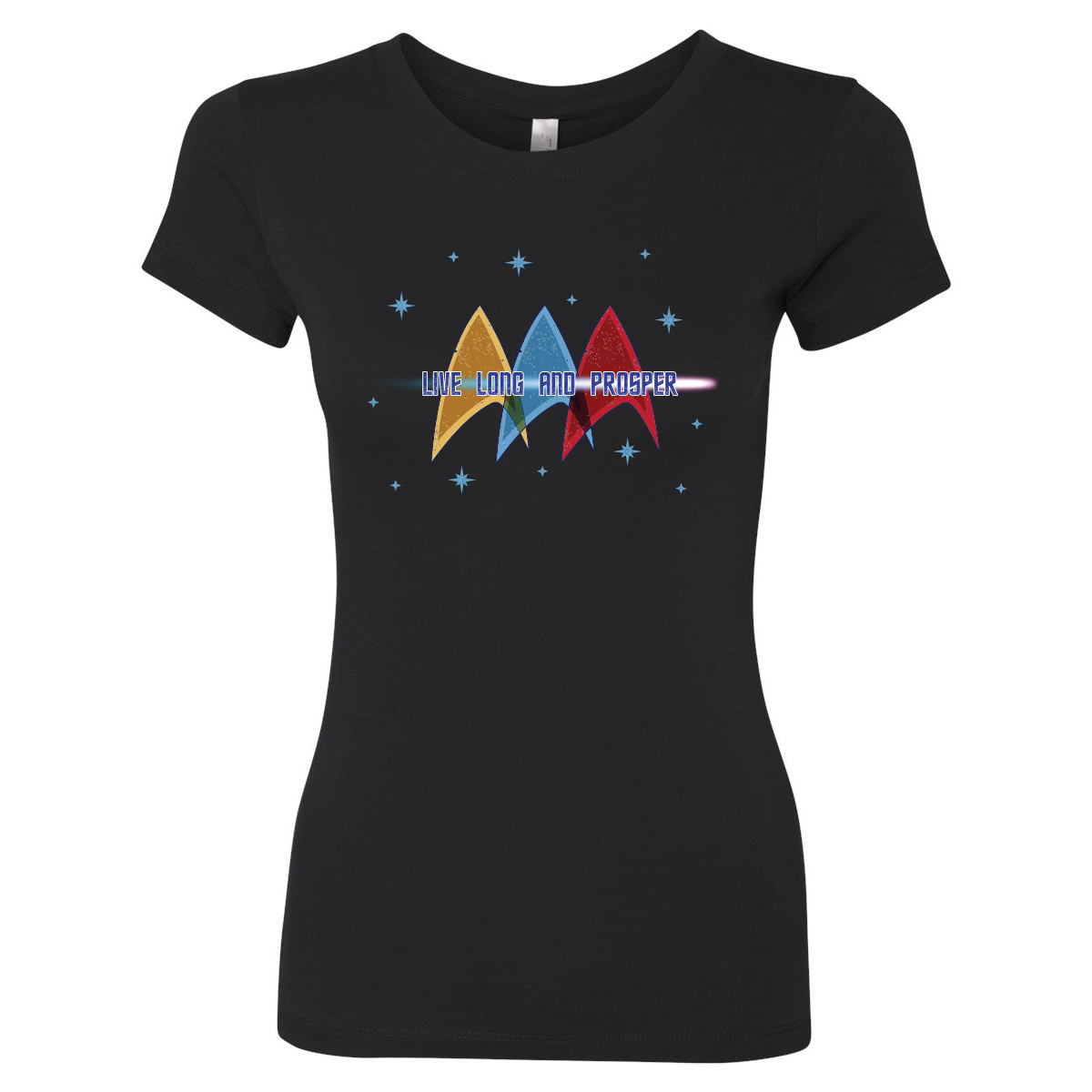 Star Trek Live Long and Prosper Women's T-Shirt