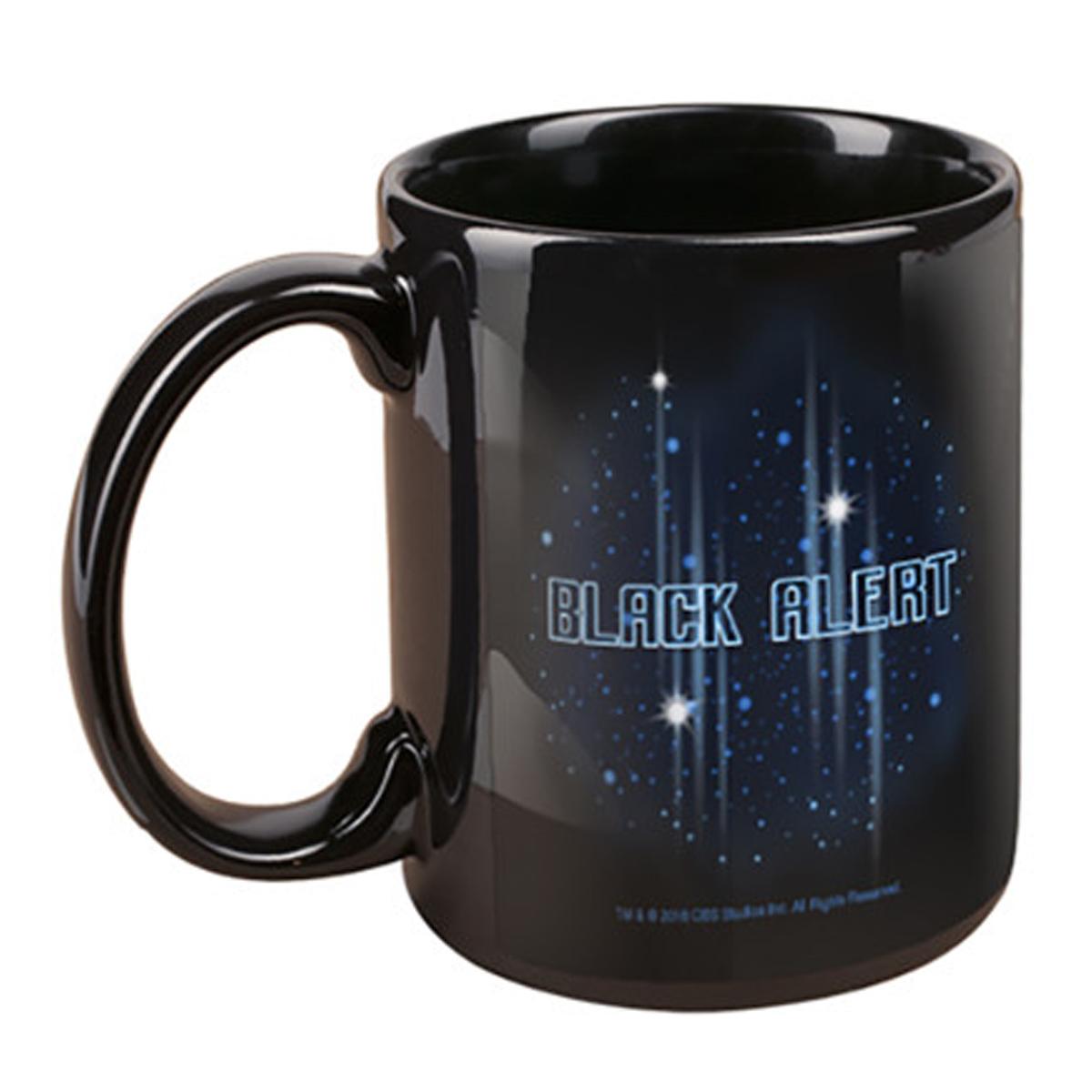 Star Trek Discovery Black Alert Mug