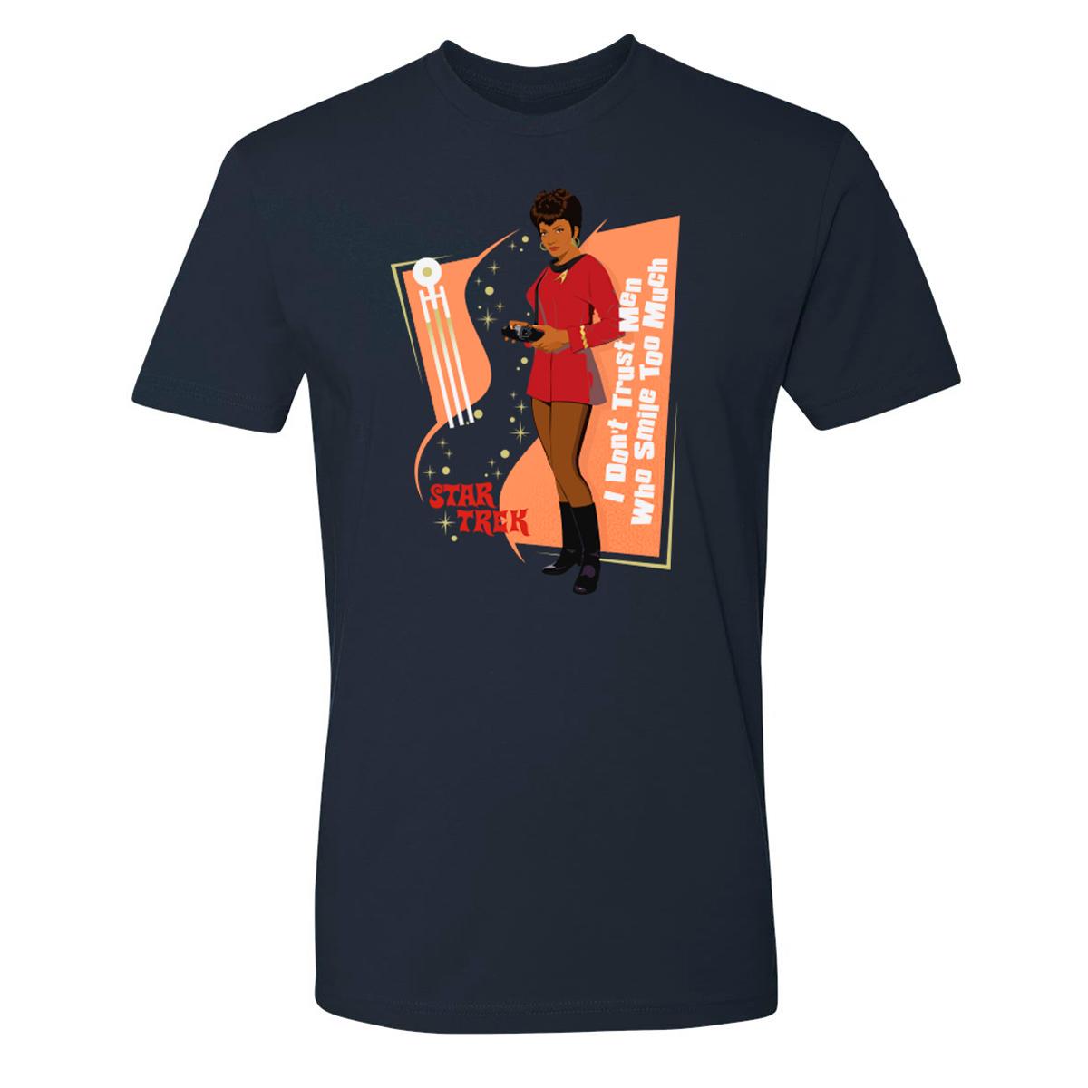 Star Trek I Don't Trust Men T-Shirt