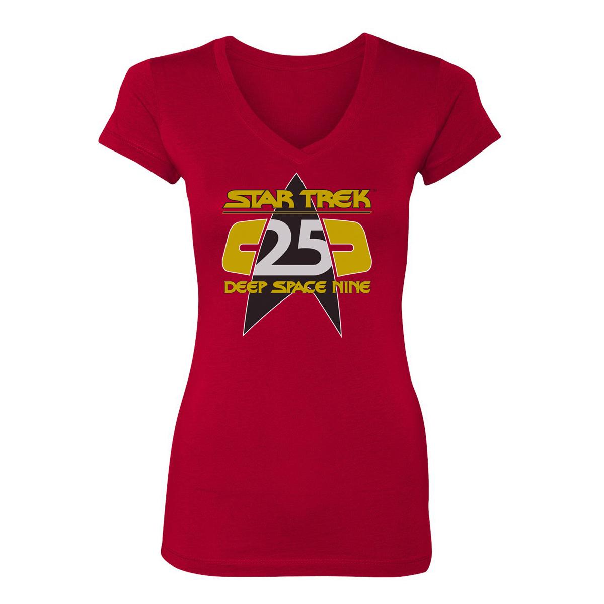 Star Trek Deep Space Nine 25th Anniversary Women's T-Shirt