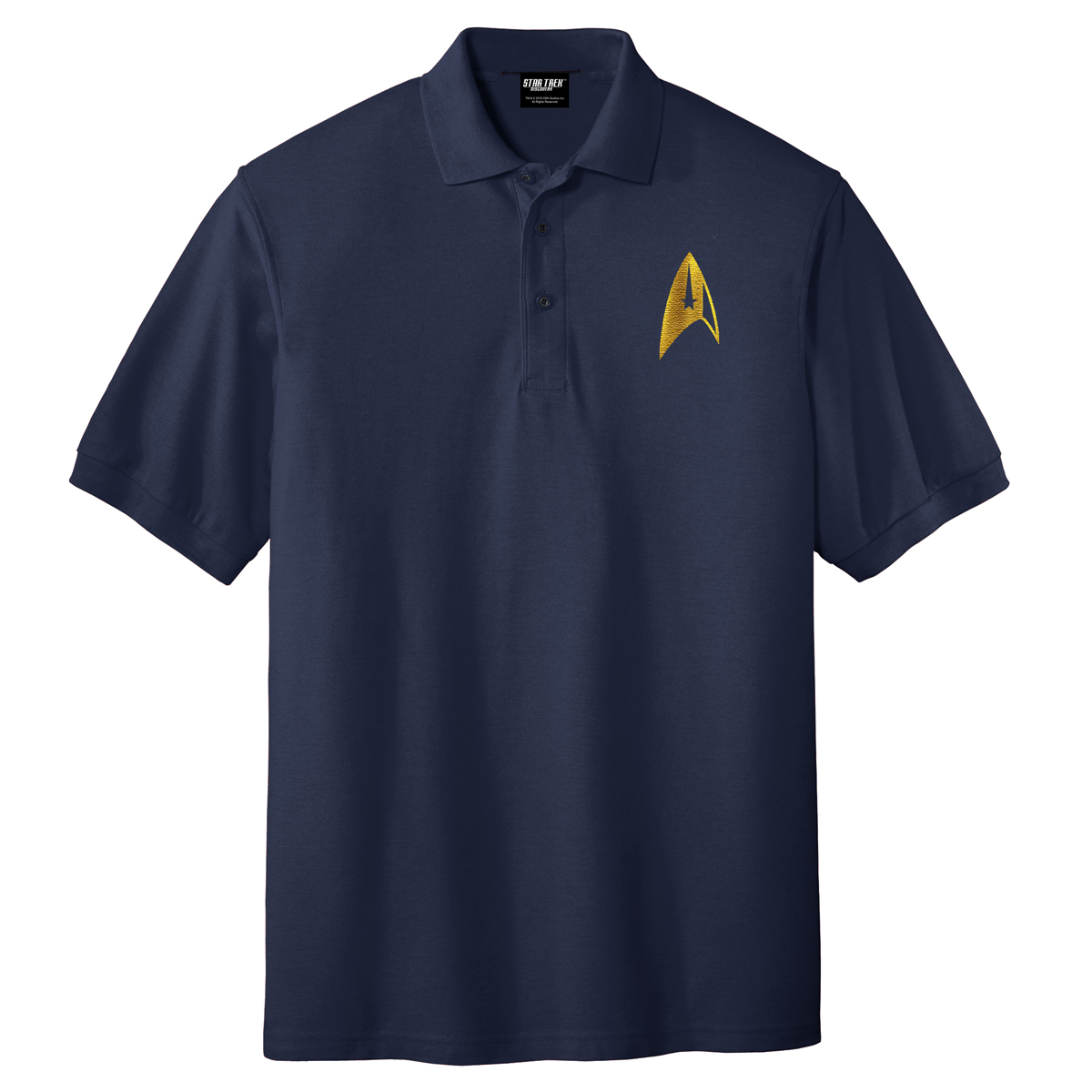 Star Trek Discovery Command Badge Polo