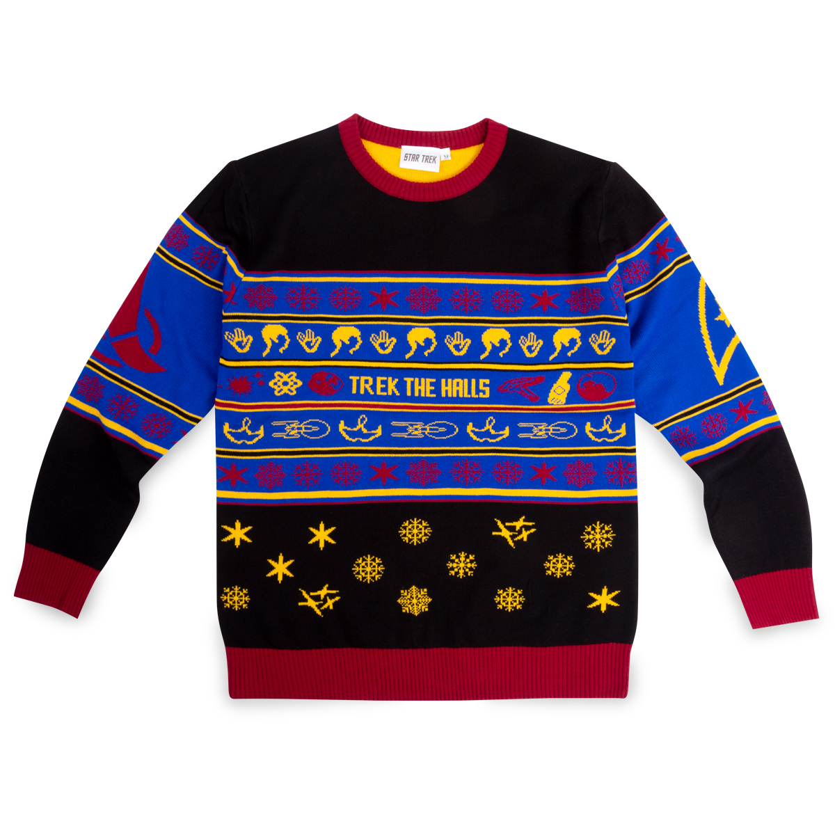 Star Trek Trek The Halls Holiday Sweater