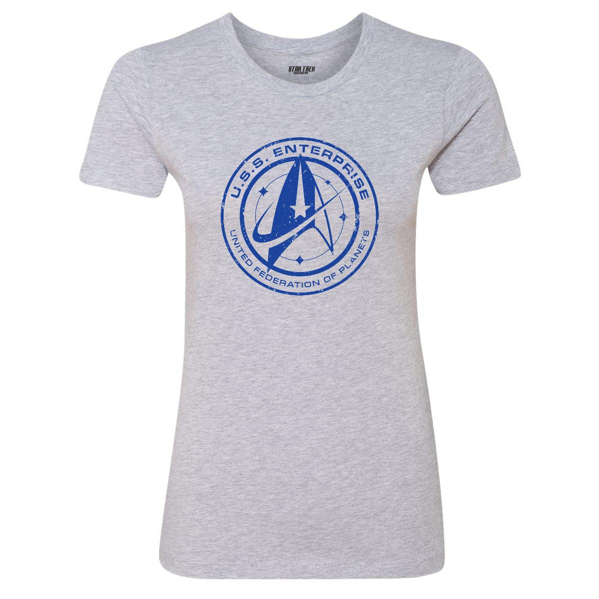 Star Trek Discovery U.S.S. Enterprise Women's T-Shirt