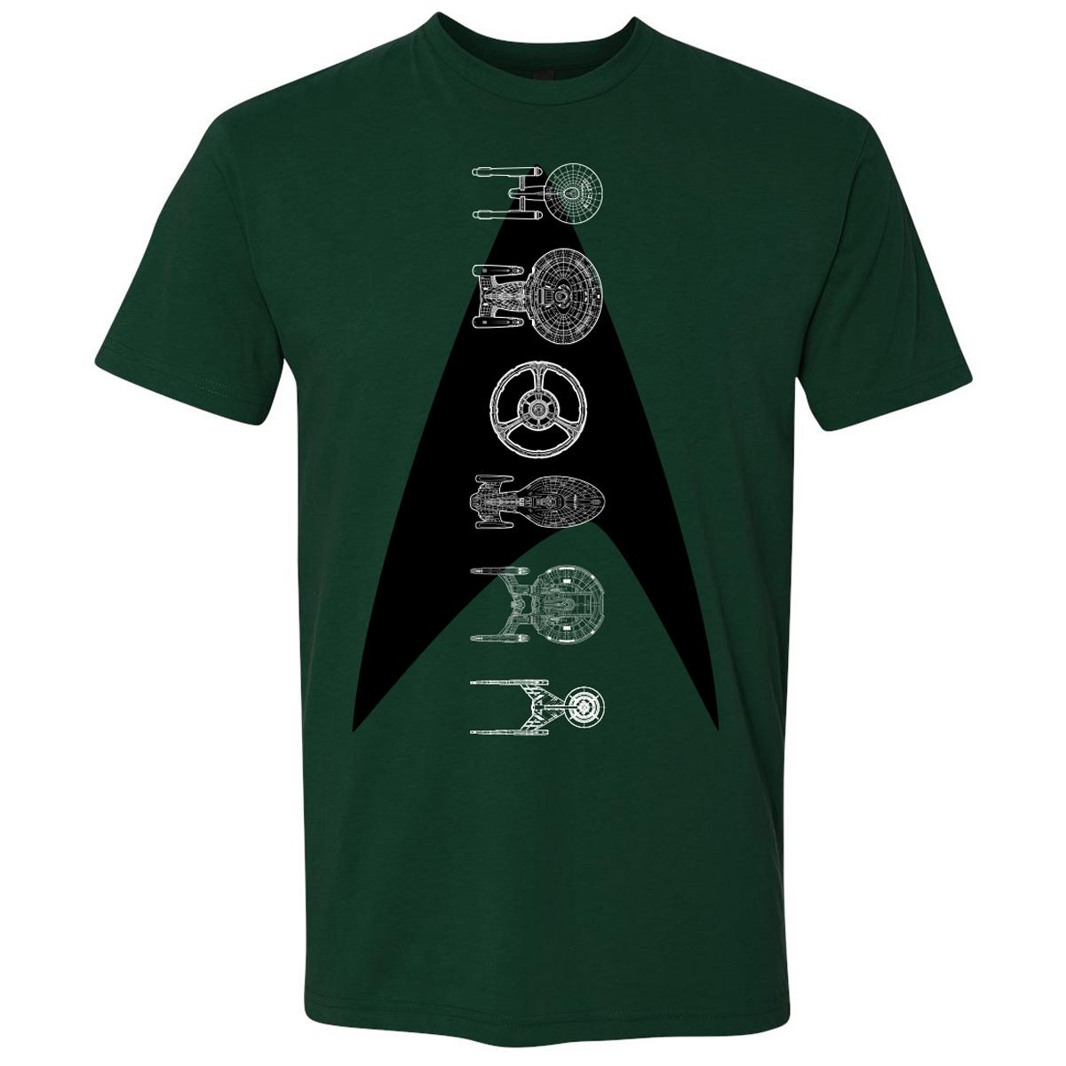 Star Trek Ships of the Line T-Shirt
