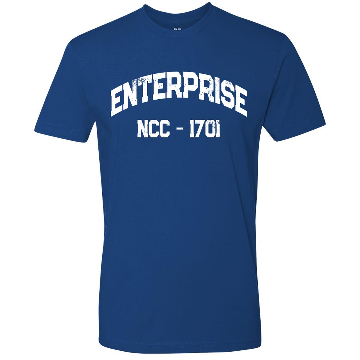 Star Trek Distressed Enterprise T-Shirt