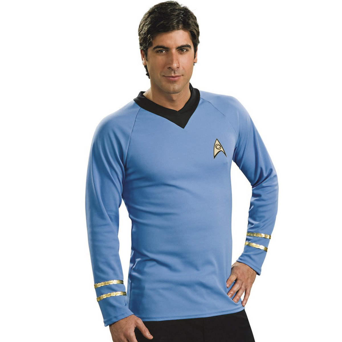 Star Trek Men's Deluxe Captain Kirk Costume