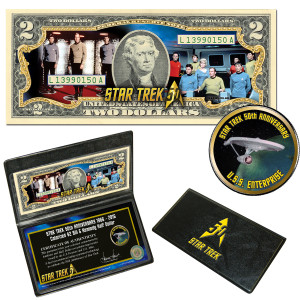 Star Trek Coin & Currency Set - The Crew