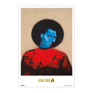Star Trek 50th Art Collection Uhura by Nick Walker Poster [13 x 9]
