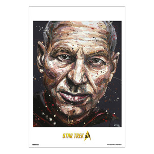 Star Trek 50th Art Collection Make It So by Paul Oz Poster [13 x 9]