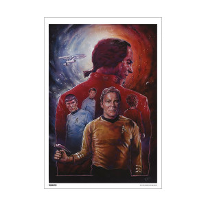 Star Trek 50th Art Collection Space Seed by Dave Merrell Poster [13 x 9]