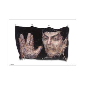 Star Trek 50th Art Collection NUBIGi ,000,095. by Hyunju Kim Poster [13 x 9]