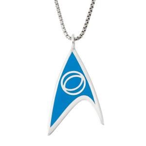 Star Trek Rocklove Delta Enamel Pendant Science