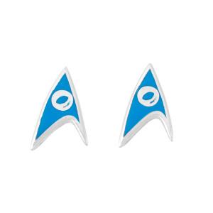 Star Trek Rocklove Delta Enamel Stud Earring Science