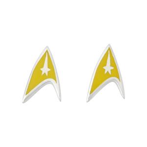 Star Trek Rocklove Delta Enamel Stud Earring Command