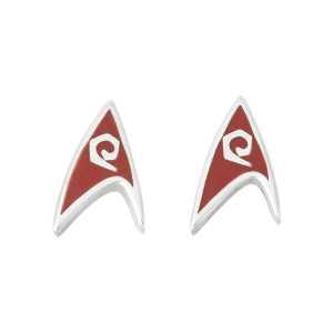 Star Trek Rocklove Delta Enamel Stud Earring Engineering