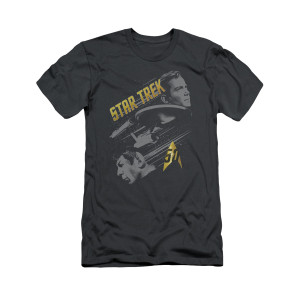 Star Trek 50th Anniversary Kirk and Spock T-Shirt
