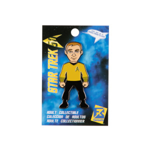 Star Trek Captain Kirk Collector's Pin