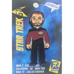 Star Trek The Next Generation Riker  Collector's Pin