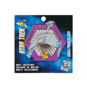 Star Trek Klingon Battle Cruiser  Collector's Pin