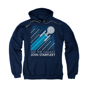 Star Trek Starfleet Recruitment Poster Hoodie