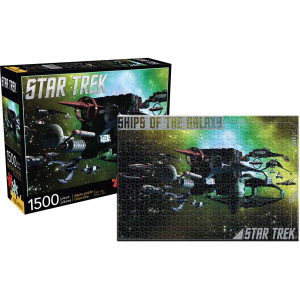 Star Trek Ships of the Galaxy 1500pc Puzzle