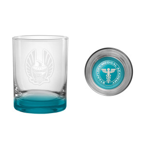 Star Trek Starfleet Academy Medical Rocks Glass