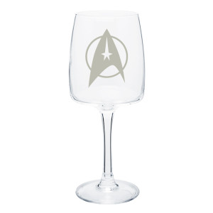 Star Trek The Original Series Delta Wine Glass